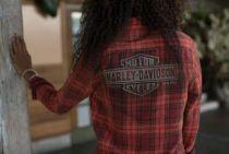 Laser Cut Logo Plaid košulja