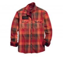 Service Plaid Slim Fit Shirt (96624-19VM)