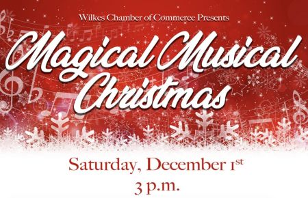 Wilkes Chamber of Commerce Presents Magical Musical Christmas Parade