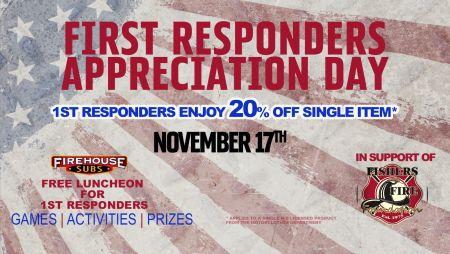 1st Responders Appreciation Day