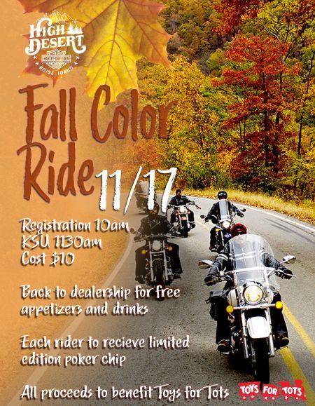 Fall Color Ride