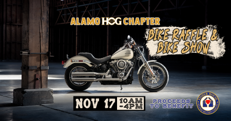 Alamo HOG Chapter Bike Raffle & Bike Show