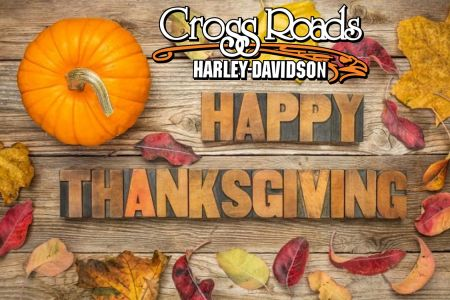Happy Thanksgiving from our family to yours! We will be closed