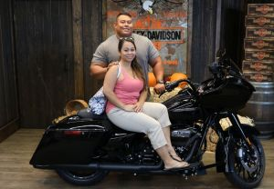 David and Christines new Road Glide Special!