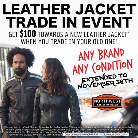 Leather Jacket Trade In Event