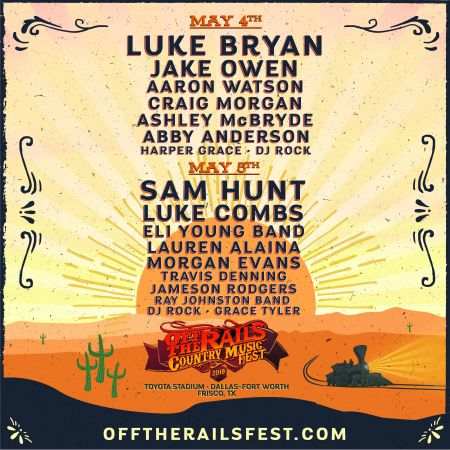 Off the Rails Music Festival 2019