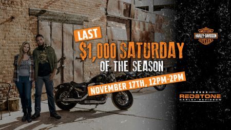 Last $1000 Saturday!!!...of the Season
