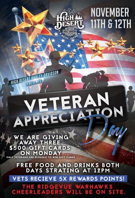 Veteran Appreciation day