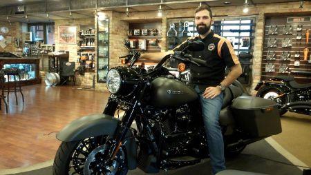 Ismerd meg a Harley-Team új tagjait - Hrabina Norbert!