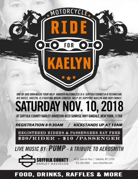 Ride for Kaelyn