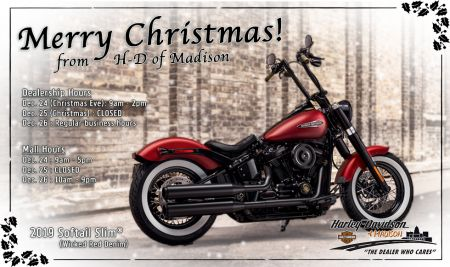 Merry Christmas from H-D of Madison!