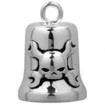 CROSSED WRENCHES & SKULL RIDE BELL