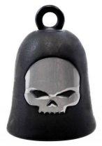H-D BLACK MATTE SKULL RIDE BELL