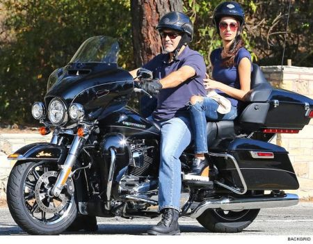 George Clooney Donates his Harley to Help Vets