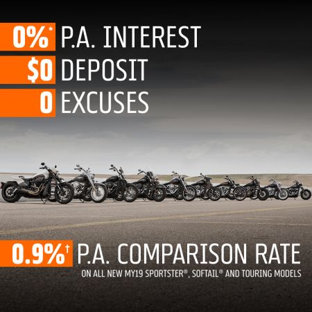 Zero Excuses: There's Never Been A Better Time To Buy A Harley®