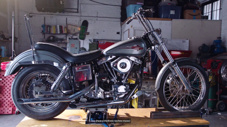 Luxuriate in this Mechanic's Teardown of a 1974 Harley-Davidson
