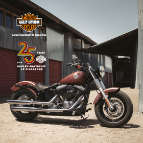 WIN A CUSTOMISED HARLEY-DAVIDSON® OF YOUR DREAMS!