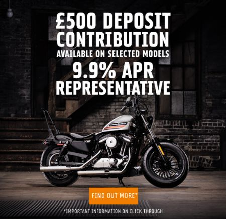 £500 deposit contribution and 9.9% APR Available on Selected Models!