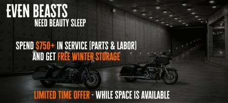 Parts Winter Storage Special