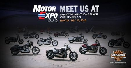 Motor Expo 2018 at IMPACT Muang Thong Thani Challenger 1-3 on November 29 - December 10, 2018!