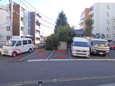 駐車スペース追加のお知らせ
