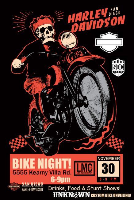 Bike Night at Kearny!