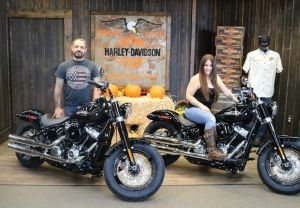 The Sanchezs and their new Softail Slims!