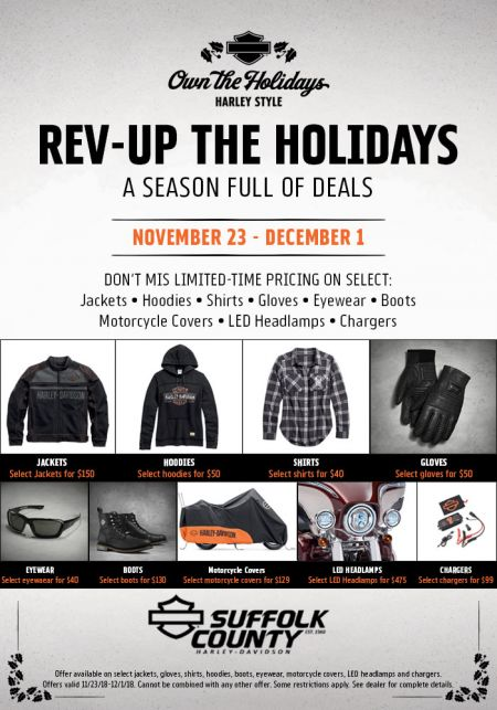 Rev-Up the Holidays Promotion