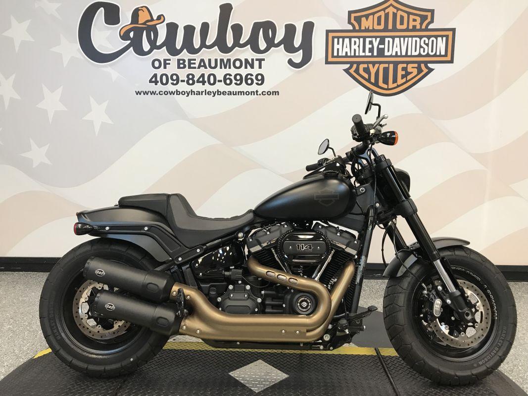 2018 Harley-Davidson<sup>®</sup> FXFBS — Softail<sup>®</sup> Fat Bob<sup>®</sup> 114
