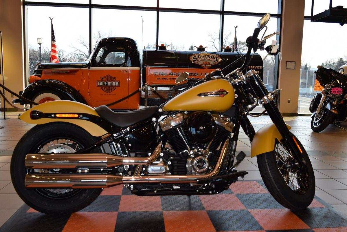 Harley Softail Slim >> 2019 Harley Davidson Softail Slim Flsl