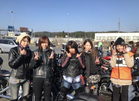 レディースツーリングの報告!!