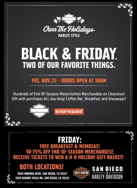 Black Friday! Own the Holidays!