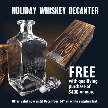 Holiday Whiskey Decanter