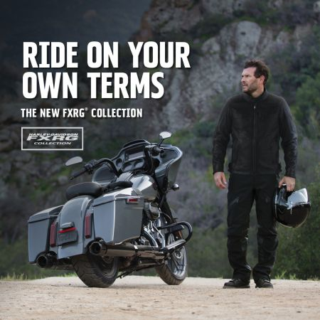 Ride on your own terms with the FXRG® Collection