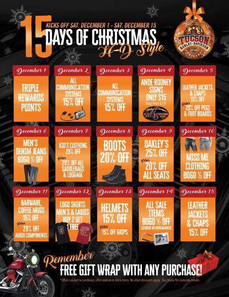 15 Days of Christmas