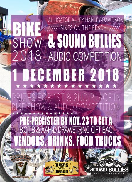Bike Show And Audio Competition