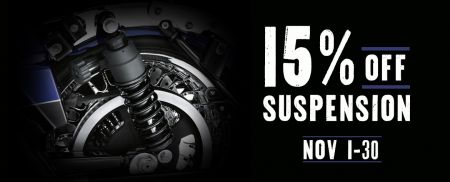 15% off suspension