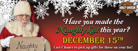 Have you made this year's Naughty List?