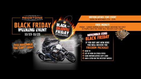 Black and Orange Friday Weekend!