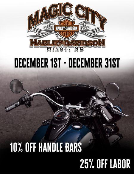 10% Off Handlebars