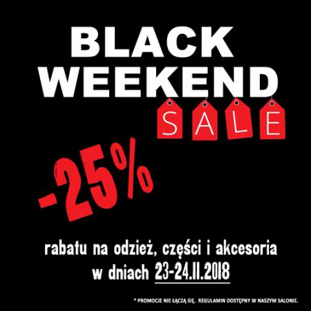 BLACK WEEKEND 23-24.11.2018