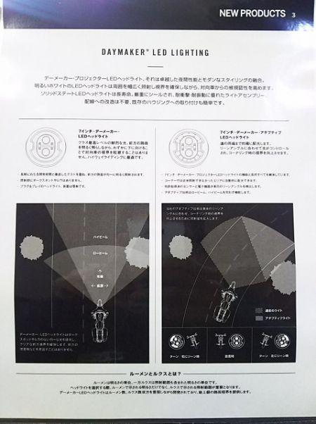 NEW LEDヘッドライト