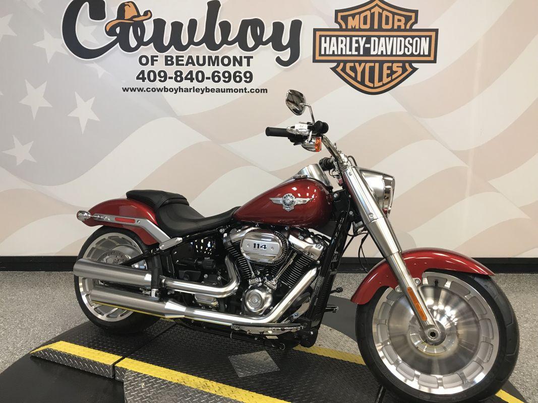 2019 Harley-Davidson<sup>®</sup> FLFBS — Softail<sup>®</sup> Fat Boy<sup>®</sup> 114