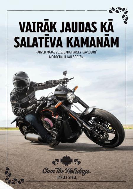 Vislabākā Ziemassvētku dāvana - Harley-Davidson