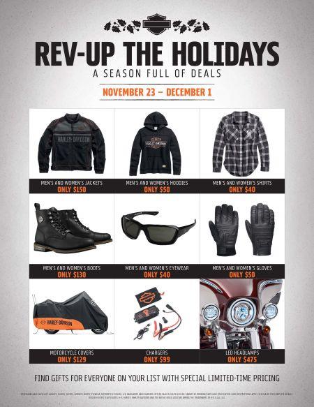Rev Up the Holidays