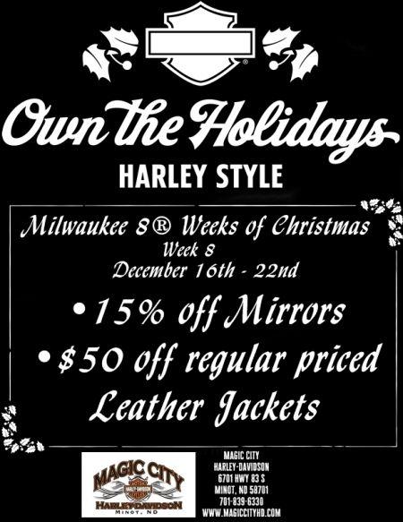 Milwaukee 8® Weeks of Christmas