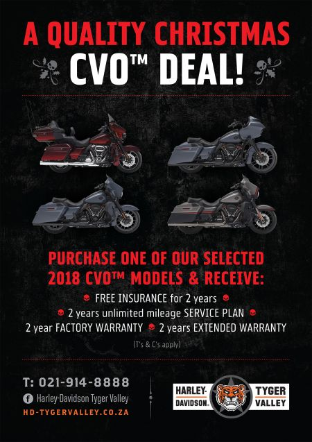 A Quality Christmas CVO™ Deal!