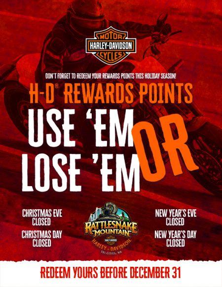 RMHD REWARD POINTS