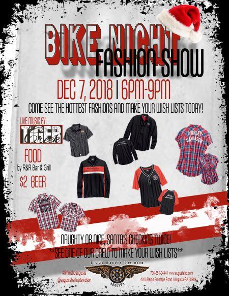 Its A BIKE NIGHT Fashion Show