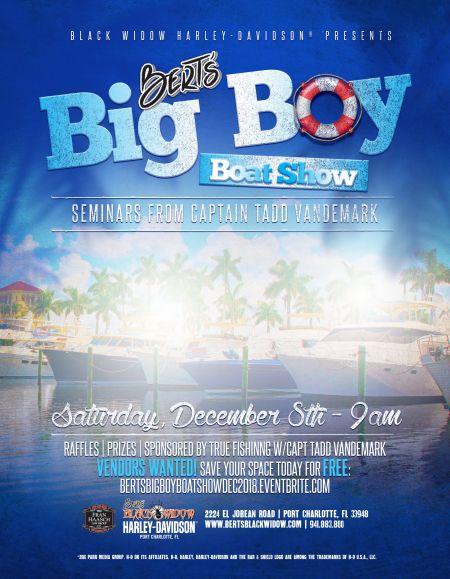 Bert's Big Boy Boat Show
